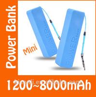 Portable perfume 2600mah usb mobile phone charger