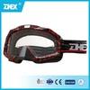 UV 400 protection/ nose protection MX goggles custom logo strap motocross goggles