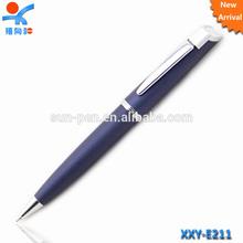 matt metal bullet ballpoint pen