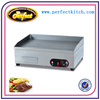 Stainless Steel Electric Flat Griddle/Industrial Electric Flat Frytop/Electric Hot Plates
