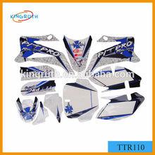 new style 3M TTR110 dirt bike graphic design