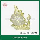 Imitation metal ceramic fish craft sculpture decoration fish
