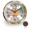 """12""""/30.5cm metal dial de cuarzo reloj de pared"""