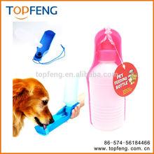 Portable Plastic Feeding Bowl Dog Pet Travel Drink Water Bottle Dispenser 300ml