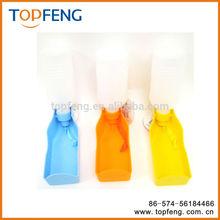 Portable Plastic Feeding Bowl/ Dog Pet Travel Drink Water Bottle /pet Dispenser