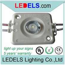 UL CE Rohs Osram Nichia 24V 1.2W Injection light box with led sign lights modules 5 years warranty waterproof