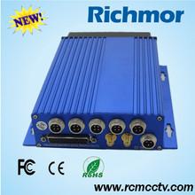 Richmor Phone Monitor 4CH GPS 3G/4G DVR Video In Car System