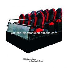 Dynamic Hydraulic Pressure Seats (12 Seats) Peak 5D Cinema