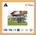 de alta calidad de ahorro de energía exterior puerta de aluminio plegable de diseño