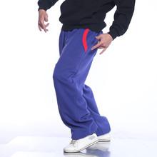 erkekler artı boyutu hip hop dans pantolon