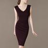 Hot Sale Latest Fashion Women Wrap Around Dress 2014 Design