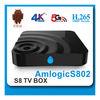2015 4K player tv box XBMC hd sex porn video android 4.4 tv box amlogic 8726 M8 tv box S802