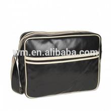 Fashion hot nice design men PU Leather shoulder bag for travel