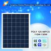 High efficiency poly solar panel 115watt