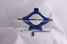 mechanical 1-2 tons scissor car jack/scissor jack tool