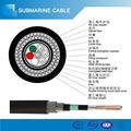 Doble blindado gyta53/33 de alambre de acero submarinos bajo el agua la comunicación de fibra óptica de cable de precio por metro