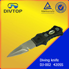 easy cut Diving 420ss Knife cable cutting knife