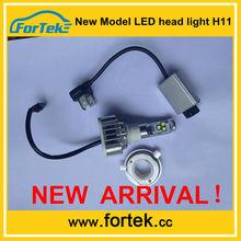 New 2014 Super Bright! 55w h11 bi xenon hid kits led headlight brighter than HIDs profitable business