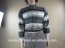 Garment Stock Lot Sale, Men's Cloth, Strip Polo T-shirt