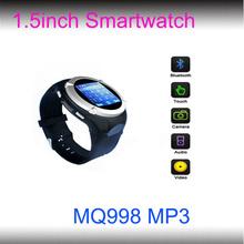 2014 Hotsale Smartwatch MQ998 Watch Phone Mobile Phone Support WAP,GPRS