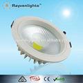 2014 New hot conception led plafonniers encastrés haute lumen 30 w bridgelux cob led