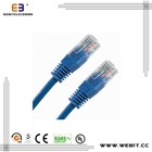 lan cable,CU or CCA material,UTP Cat6 patch cord