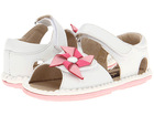 summer white cute beautiful baby fancy dress sandals for girls
