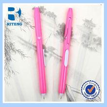 hot sale customize curved clip pen , matel clip ball pen