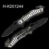 Tac-Force Black Rescue Spring Assisted Glass Breaker Folding Pocket Knife