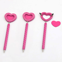 INTERWELL WPF24 Promotional Wooden Heart Shaped Ball Pen