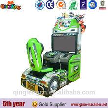 42 LCD Dynamic truck indoor car racing game machine city car driving simulator game