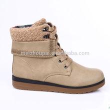 2014 women winter shoes pu shoe woman