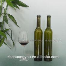 wholesale top grade unique design empty liquor 500ml spirit glass bottles