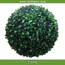 caldo palla erba artificiale palla arte topiaria bosso sfera artificiale