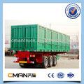 nuovo di zecca 3 assi 50 ton usato contenitore di carico del rimorchio per la vendita