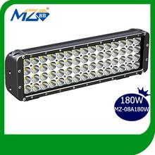 180W LED Tuning Light Cree Spot Beam Flood Beam Combo Beam Light Bar 2014 Fashion Heavy Duty Truck Accessory