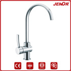 Designer Brass Chromed Single Lever Kitchen Faucet Mixer (Taps)