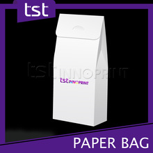 2014 New Custom Design Folded Shopping Paper Bag