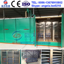 Safe And Easy Operation Charcoal Coal Briquette Dryer