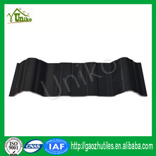 recyling low price sound absorption flame redardant color stabilizer roofing pvc plastic sheet made in china