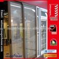 Australian standard as2047/as2208 de alumínio pendurados porta deslizante fotos