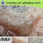 wholesale new design 100% poly snowflake organza fabric