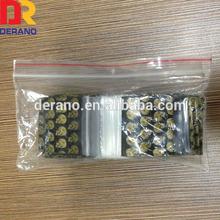 Wholesale LDPE Plastic Food Grade Apple Mini Zip Lock Bags