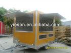 food vending carts mobile kitchen truck for sale/ mobile food trailer/Hot Sale Towable Food Trailer For Sale