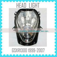 Quality motorcycle headlight headlamp for SUZUKI GSXR1300 99 00 01 02 03 04 05 06 07 hayabusa head light lamp