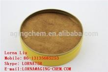 YELLOW BROWN POWDER-SODIUM NAPHTHALENE SULPHONATE FORMALDEHYDE SNF-B HIGH RANGE WATER REDUCING AGENT
