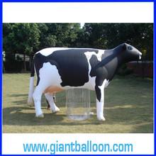 PVC Giant Inflatable Animal Balloon Cow