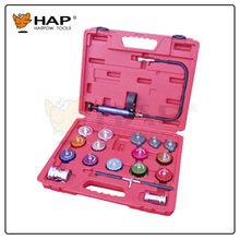 21pcs Cooling system and radiator cap pressure tester