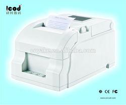 Easy paper loading 76mm dot matrix receipt printer