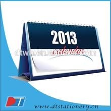 2015 new fashion custom wooden desk calendar